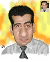 Cartoon: Hemn Mirany (small) by handren khoshnaw tagged handren,khoshnaw