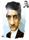Cartoon: Sergiu Celibidache (small) by handren khoshnaw tagged handren khoshnaw
