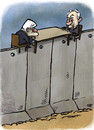 Cartoon: talking of peace (small) by kap tagged israel,palestina,peace,mideast