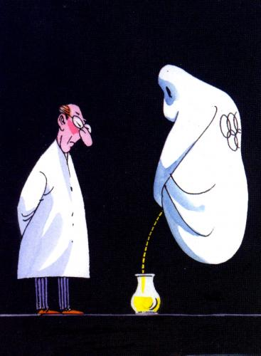 Cartoon: Der olympische Geist (medium) by Reiner Schwalme tagged olympiade,doping