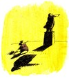 Cartoon: Schatten (small) by Schwalme tagged schatten
