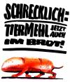 Cartoon: Tiermehl (small) by Reiner Schwalme tagged lebensmittel