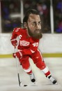 Cartoon: Henrik Zetterberg (small) by Danny Kohn tagged detroit,red,wings,caricature