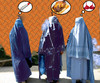Cartoon: neulich im Ramadan (small) by ab tagged ramadan,burka,mann,frau