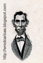 Cartoon: Abraham Lincoln (small) by WROD tagged abraham,lincoln,president,of,usa