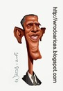 Cartoon: Barack Hussein Obama (small) by WROD tagged usa,politician