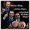 Cartoon: Grabbing Eve T. (small) by Night Owl tagged recep,tayyip,erdogan,referendum,evet,hayir,türkei,verfassung,regierungspartei,akp,präsidialsystem,diktatur,sultanat