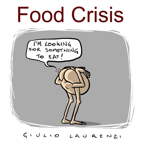 Cartoon: Food Crisis (medium) by Giulio Laurenzi tagged food,crisis