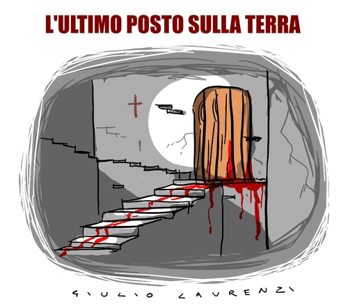 Cartoon: Ultimo Posto (medium) by Giulio Laurenzi tagged ultimo,posto