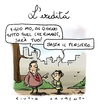 Cartoon: L eredita (small) by Giulio Laurenzi tagged eredita