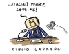 Cartoon: Love (small) by Giulio Laurenzi tagged berlusconi