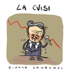 Cartoon: Tremonti e la crisi (small) by Giulio Laurenzi tagged tremonti