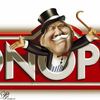Cartoon: Dominator (small) by Bart van Leeuwen tagged trump,monopoly,dominator,usa,president,republicans