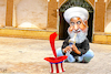 Cartoon: Snake Charmer Rouhani (small) by Bart van Leeuwen tagged hassan,rouhani,trump,iran,united,states,rising,tensions,conflict,nuclear,deal,weapon,uranium,enrichment,sanctions,drone,oil,tankers