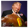 Cartoon: TrumpSacrifices (small) by Bart van Leeuwen tagged donald,trump,sacrifices,offers,turkey