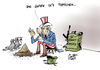 Cartoon: Aschenputtel (small) by Paolo Calleri tagged usa,washington,syrien,damaskus,barack,obama,baschar,al,assad,krieg,konflikt,militärschlag,giftgaseinsatz,karikatur,paolo,calleri