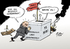 Cartoon: Besetzt (small) by Paolo Calleri tagged kiew,ukraine,ostukraine,russland,referendum,unabhängigkeit,krise,kreml,präsident,wladimir,putin,eskalation,konflikt,krieg,separatisten,prorussisch,westen,karikatur,cartoon,paolo,calleri