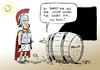 Cartoon: Korruptionsindex (small) by Paolo Calleri tagged griechenland,hellas,athen,korruption,index,corruption,perception,transparency,international,nationen,eu,europa,schuldenkrise,staatsschulden,diogenes,alexander,fass,politik