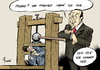 Cartoon: Pressefreiheit (small) by Paolo Calleri tagged tuerkei,reporter,journalisten,journalismus,pressefreiheit,erdogan,festnahmen,zensur,nachrichtensperren,medien,kritisch,satire,strafanzeigen,redaktionen,karikatur,cartoon,paolo,calleri
