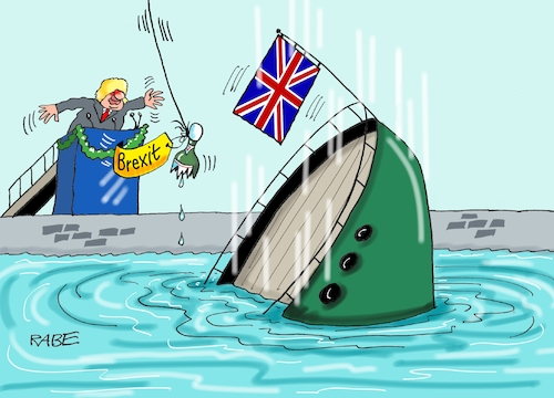 Cartoon: Brexit nochmal nochmal (medium) by RABE tagged brexit,no,deal,johnson,boris,downing,street,austritt,eu,brüssel,london,rabe,ralf,böhme,cartoon,karikatur,pressezeichnung,farbcartoon,tagescartoon,may,juncker,luxemburg,schiff,werft,schiffstaufe,untergang,sektflasche,nochmal,brexit,no,deal,johnson,boris,downing,street,austritt,eu,brüssel,london,rabe,ralf,böhme,cartoon,karikatur,pressezeichnung,farbcartoon,tagescartoon,may,juncker,luxemburg,schiff,werft,schiffstaufe,untergang,sektflasche