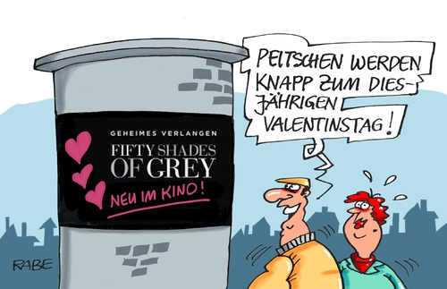 Cartoon: Shades of grey (medium) by RABE tagged shades,of,grey,sado,maso,film,kino,rabe,ralf,böhme,cartoon,karikatur,pressezeichnung,farbcartoon,tagescartoon,litfaßsäule,kinoposter,valentinstag,verliebte,peitsche,masochist,shades,of,grey,sado,maso,film,kino,sex,rabe,ralf,böhme,cartoon,karikatur,pressezeichnung,farbcartoon,tagescartoon,litfaßsäule,kinoposter,valentinstag,verliebte,peitsche,masochist