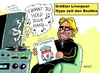 Cartoon: Liverklopp (small) by RABE tagged klopp,trainer,fc,liverpool,fussballtrainer,borrusia,dortmund,kloppo,trainerwechsel,ablösesumme,rabe,ralf,böhme,cartoon,karikatur,pressezeichnung,farbcartoon,tagescartoon,beatles,hype,beatlemania,single,pop,rock,plattenspieler,want,to,hold,your,hand