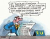Cartoon: Schrödersanktion Neu (small) by RABE tagged exkanzler,gerhard,schröder,spd,putin,mokau,kremlchef,duzfreund,arschkriecher,ukraine,ukrainekrise,separatisten,russen,russland,prorussland,kiew,flugzeugabschuss,rabe,ralf,böhme,cartoon,karikatur,pressezeichnung,farbcartoon,tagescartoon,eu,brüssel,sanktion