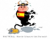 Cartoon: Wag The Bull (small) by RABE tagged katalanen,katalonien,abspaltung,spanien,madrid,barcelona,referendum,ultimatum,rabe,ralf,böhme,cartoon,karikatur,pressezeichnung,farbcartoon,tagescartoon,stier,bull,bulle,rind,schwanz,wag,the,dog,hund,wedeln,unabhängigkeit,unabhängigkeitserklärung,puigemont,rajoy