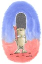 Cartoon: Finest English Sausage (small) by mele tagged wurst,england,palastwache