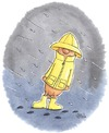 Cartoon: Friesenwurst (small) by mele tagged wurst,friesland,regen,öljacke