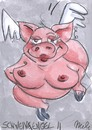 Cartoon: Schweinereien 5 (small) by mele tagged schweine,sex