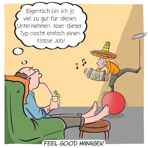 Cartoon: Feel Good Manager (medium) by CloudScience tagged feel,good,manager,arbeit,beruf,berufe,arbeitswelt,zukunft,trend,digitalisierung,digital,technologie,management,work,arbeit40,new,innovation,disruption,job,unternehmen,karriere,tech,business,betreuung,berufsbild,feel,good,manager,arbeit,beruf,berufe,arbeitswelt,zukunft,trend,digitalisierung,digital,technologie,management,work,arbeit40,new,innovation,disruption,job,unternehmen,karriere,tech,business,betreuung,berufsbild