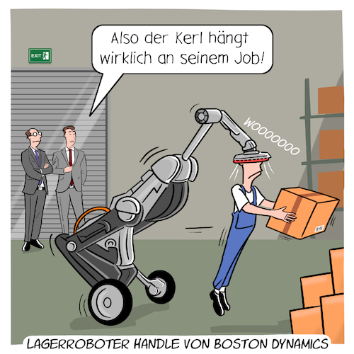 Lagerroboter von Boston Dynamics