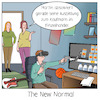Cartoon: New Normal (small) by CloudScience tagged new,normal,ausbildung,bildung,lehre,homeoffice,vr,vrbrille,virtual,reality,business,wirtschaft,logistik,lager,regale,it,digitalisierung,change,wandel,work,arbeit40,zukunft,corona,covid19,remote
