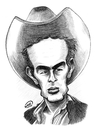 Cartoon: James Dean (small) by DeVaTe tagged james,dean,cartoon