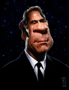 Cartoon: Tommy Lee Jones (small) by sting-one tagged mib,tommy,lee