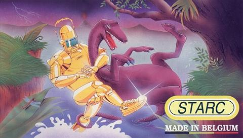Cartoon: Starc (medium) by stip tagged robot,dinosaur,shoe