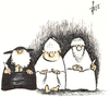 Cartoon: .......... (small) by tiede tagged kindeswohl,beschneidung,kindesmissbrauch,tiede,joachim,tiedemann,cartoon,karikatur