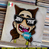 Cartoon: Anitta - Bang (small) by Peps tagged anitta,bang