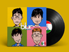 Cartoon: Blur Parody Cover (small) by Peps tagged blur,damonalbarn,popart,julianopie,parody,parodies,music,rock,england