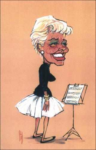 Cartoon: Movie Caricatures 10 (medium) by Stef 1931-1995 tagged movie,caricature,hollywood