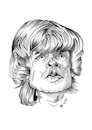 Cartoon: Peter Dinklage (small) by Thomas Vetter tagged peter,dinklage