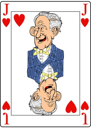 Cartoon: Jack from UK (medium) by Ludus tagged poker,card,princes