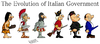 Cartoon: Italian Government in history (small) by Ludus tagged italy berlusconi