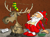 Cartoon: Santa Claus (small) by Ludus tagged christmas,santaclaus