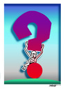 Cartoon: Question Mark (small) by kifah tagged question,mark