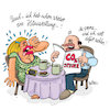 Cartoon: klimawechsel (small) by REIBEL tagged klimaterium,klima,co2,hitzewallung,ehe,partnerschaft