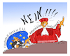 Cartoon: Bundesverfassungsgericht (small) by vasilis dagres tagged germany,european,union,cjeu