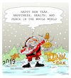 Cartoon: HAPPY NEW YEAR. (small) by vasilis dagres tagged new year