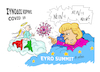 Cartoon: NEIN !!!!!!! (small) by vasilis dagres tagged covid19,european,union,merkel,italy